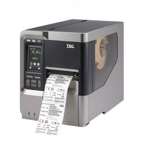 Imprimanta de etichete TSC MX340P 300DPI Wi-Fi rewinder