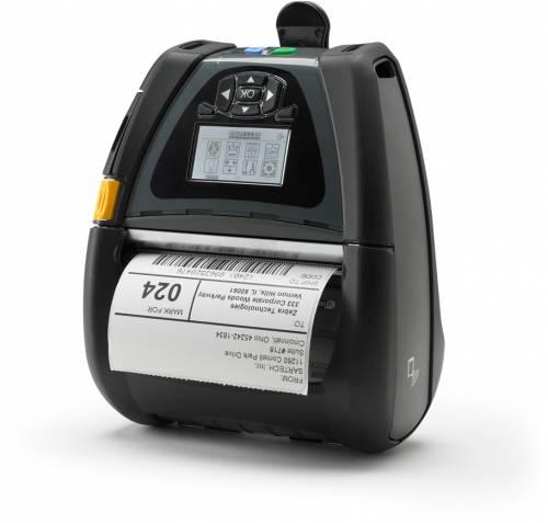 imprimanta mobila de etichete zebra qln420 203dpi wi-fi