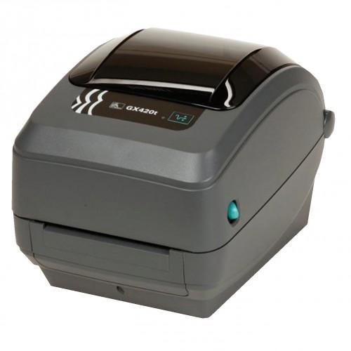 Imprimanta de etichete Zebra GX420T Ethernet dispenser
