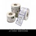 Role de etichete Zebra Z-Ultimate 3000T 70x32mm PP, 2100 et./rola