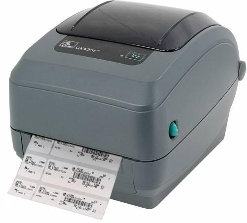 Imprimanta de etichete Zebra GX420T Ethernet cutter