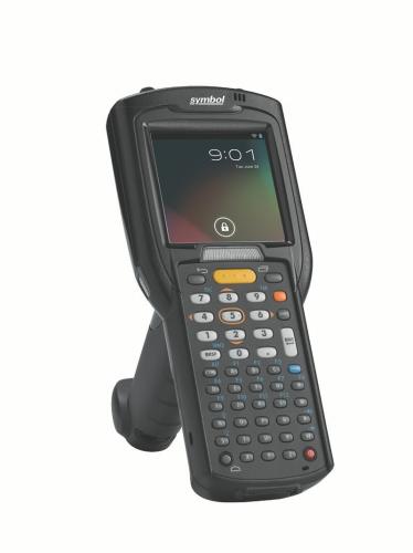 Terminal mobil Motorola Symbol MC3200 Gun 2D ER bat. ext. 38 taste