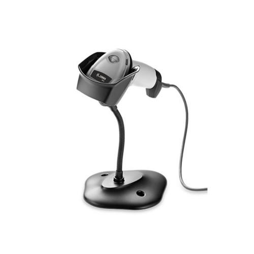 Cititor coduri de bare Zebra DS2208 USB stand alb