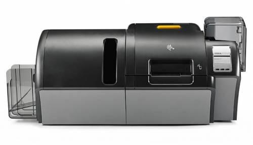 Imprimanta de carduri Zebra ZXP9 dual side laminare dual side MSR LCD Ethernet