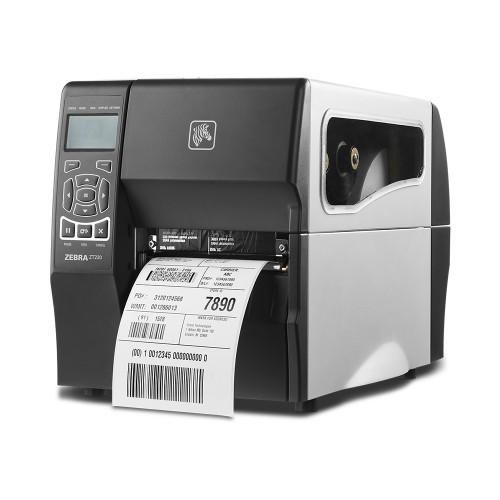 imprimanta de etichete zebra zt230 tt 203dpi ethernet peeler