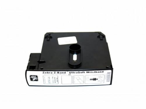 Bratari de identificare Zebra Z-Band Ultrasoft 25x279mm albe 1050 buc piele sensibila