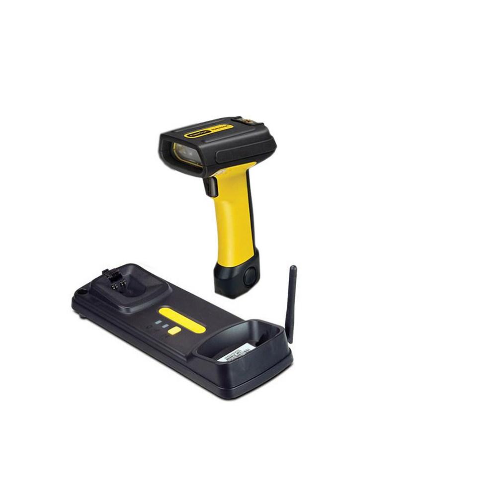 Cititor coduri de bare Datalogic PowerScan PBT7100, USB, cradle, galben