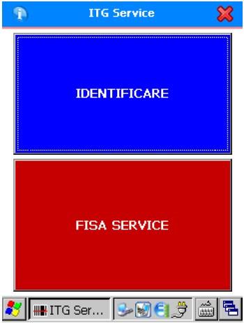 ITG Service, aplicatia mobila