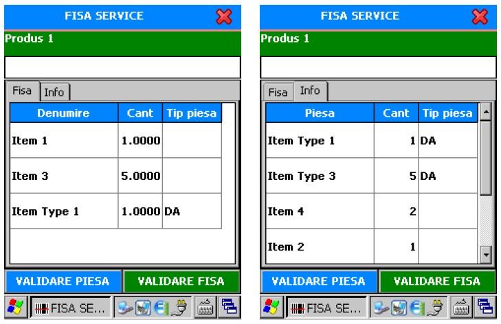 ITG Service, fisa service