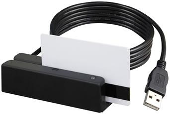 Cititor de carduri magnetice Uniform MSR213U